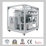 Macchina industriale organizzata doppio di processo di filtrazione dell'olio del trasformatore di vuoto
