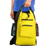 Горячий Backpack сухого мешка OEM сбывания с 2 карманн застежки -молнии