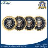 Подгонянные и полиции стороны коммеморативные или монетка сувенира