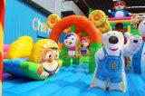 만화 펭귄 판매를 위한 팽창식 Funland 도약자 장애물 코스