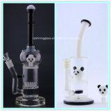Hervorragendes unterschiedliches Tierform-Glas-rauchende Wasser-Rohr-Ölplattformen mit Bienenwabe Perc