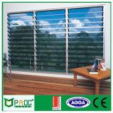 Aluminium Lourve en verre réglable avec la lame faite à Changhaï