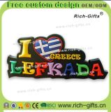 カスタマイズされた昇進のギフトの装飾PVC冷却装置磁石のツーリストの記念品ギリシャ(RC-GR)