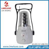 휴대용 재충전용 LED USB 비용을 부과 야영 빛