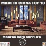 Sofa en cuir sectionnel de la qualité 123 de Dubaï