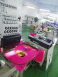 Cores da cabeça 9/12/15 de Wonyo máquina industrial do bordado das únicas para o tampão, o t-shirt e o bordado liso com bordado grande da área