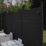 Cerca de aluminio de la aislamiento de la instalación fácil WPC de la alta calidad con la puerta