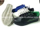OEMは着色する女性の注入PUの偶然靴(FFYJ1223-03)を