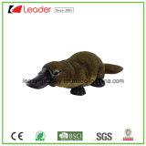 Nueva Vida Silvestre poliresina cargado en cuenta pato de Platypus Figurita para decoración de jardín