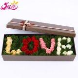 China fabricante caja de la flor de papel con alta calidad