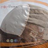 Peluca superior de seda de las mujeres del frente médico del cordón del color de la Virgen para el enfermo de cáncer