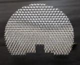 Panneaux en plastique transparents semi-circulaires de nid d'abeilles