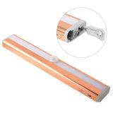 PIR 운동 측정기 서랍 또는 내각 또는 배터리 전원을 사용하는 옷장 가벼운 램프 10 LED