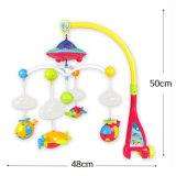 ABS van de Producten van de baby het Materiële Roterende Stuk speelgoed van de Klok van het Bed met Projectie & Muziek (H8732056)