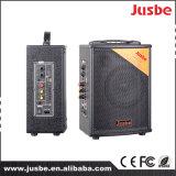 5 Zoll 12V 6A 100 Watt professionelles aktives bluetooth bewegliche Laufkatze-Lautsprecher-
