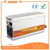 C.C. da manufatura de Suoer ao inversor do inversor 12V 220V 1000W da potência de C.A. (USB-1000A)
