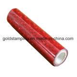 Deslizamiento bronceando la lámina para gofrar caliente de los items consumibles para el plástico