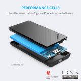 アンケルPowercoreはiPhone電池の技術の5000のポータブルの充電器、超細い外部電池および速充満Poweriqの力バンクを細くする