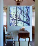 Pittura Handmade sulla pittura della tela di canapa di arte della tela di canapa