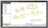 Pantalla táctil infrarroja Whiteboard interactivo para la clase elegante