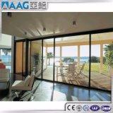 Portello interno con la verniciatura temperata doppio per il balcone