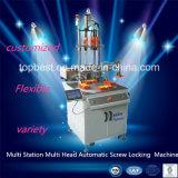 Máquina automática principal multi modificada para requisitos particulares del tornillo de cierre de la estación multi