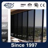 Protección de la intimidad Anti-ULTRAVIOLETA película negra de la ventana de 1 capa el 15% DIY