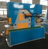 Ângulo de Q35y que entalha a máquina hidráulica nova do Ironworker da máquina