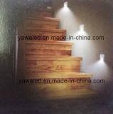 Grado redondo DC12V 350mA del ángulo 120 del haz luminoso de la pared del LED