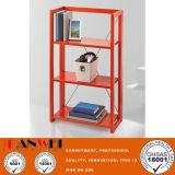 Bunte rote schwarze Kiefer-hölzerne faltende Bücherregal-Wohnzimmer-Möbel-hölzerne Möbel