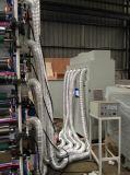 Máquina de impressão de Flexo com a estação cortando toda UV