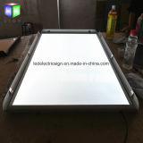 Scheda di pubblicità ultrasottile del segno della cornice LED