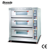 بالجملة يخبز آلة تجهيز ظهر مركب بيتزا فرن لأنّ مخرز مع [3دكس] [6ترس]