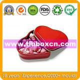Heart-Shaped Süßigkeit-Zinn-Kasten, Inner-Zinn-Süßigkeit-Dose