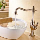 Grifo mezclador de latón de agua para la cocina