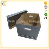 Rectángulos de envío impresos acanalados coloreados aduana del cartón