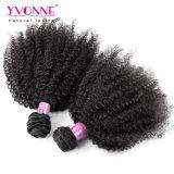 Выдвижение человеческих волос Afro Kinky курчавое бразильское