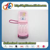 De mooie die Telefoon van de Cel met het Speelgoed van Juwelen voor Jong geitje wordt beslagen
