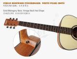 Aiersi 40インチのLamiantedの小ぎれいな上のマホガニーボディアコースティックギター