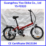 20 '' 36V / 250W Fast Pocket Electric Bike Folding E Bike no Reino Unido