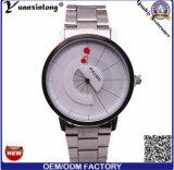 Neue Uhr Paidu Form-Legierungs-Ineinander greifen-Riemen-Brückemens-Armbanduhr-Multifunktionsquarz-Uhren der Marken-Yxl-355