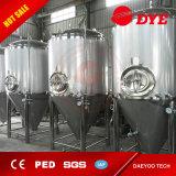 350L 400L 450L 500L de Dubbele Beklede Tank van de Gisting van het Bier Kegel voor Verkoop