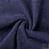 Tessuto Mixed delle lane delle lane e del mohair per il cappotto di inverno nell'azzurro di blu marino
