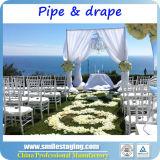 Труба фона и задрапировывает трубу украшения венчания регулируемую и задрапировывает наборы