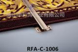 Aluminiumteppich trimmt Tür-Stab-Rand-Profil