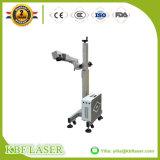 Máquina de la marca del laser para la máquina plástica de la marca del vuelo del cable/del laser de la fibra
