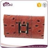 Бумажники Fani причудливый для женщин, малой кожаный повелительницы Портмона