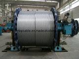 全面的な電流を通された鋼線が付いている残された電流を通された鋼鉄ケーブル