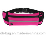 A correia Running da amostra livre, ostenta o saco impermeável da cintura