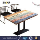 Таблица кафа Industral изготовления Китая и стул Sbe-CZ0618